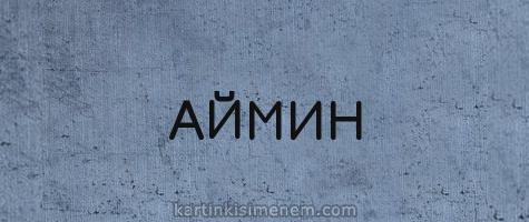 АЙМИН