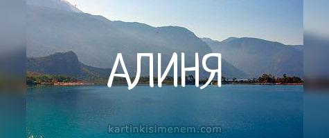 АЛИНЯ