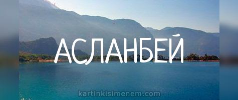 АСЛАНБЕЙ