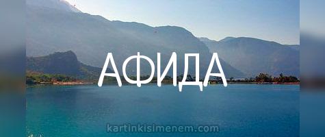 АФИДА