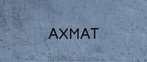 АХМАТ