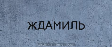 ЖДАМИЛЬ