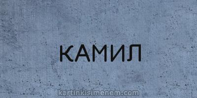 КАМИЛ