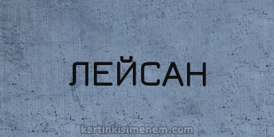 ЛЕЙСАН