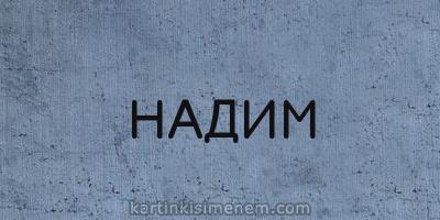 НАДИМ