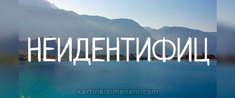 НЕИДЕНТИФИЦ