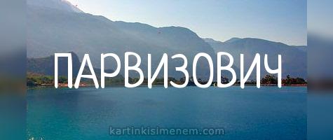 ПАРВИЗОВИЧ