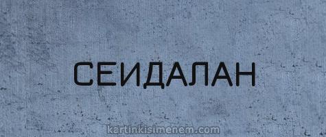 СЕИДАЛАН