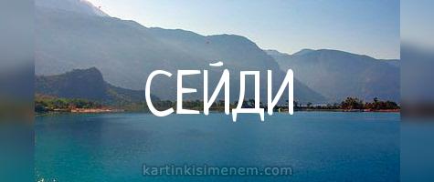 СЕЙДИ