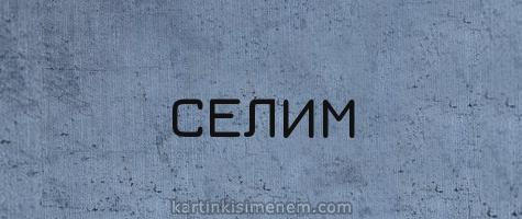 СЕЛИМ
