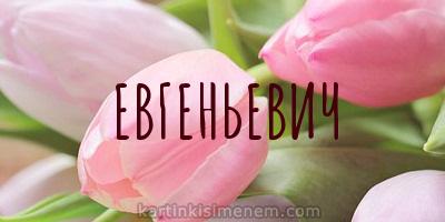ЕВГЕНЬЕВИЧ