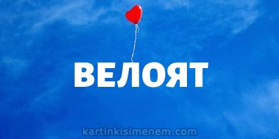 ВЕЛОЯТ