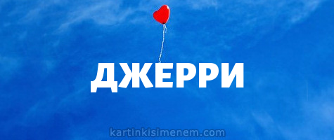 ДЖЕРРИ