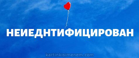 НЕИЕДНТИФИЦИРОВАН