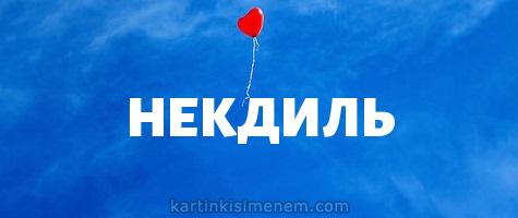 НЕКДИЛЬ